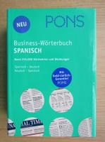 Anticariat: Pons. Business-Worterbuch Spanisch