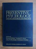 Anticariat: Preventive psychology. Theory, research and practice