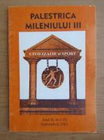 Anticariat: Revista Palestrica Mileniului III, anul II, nr. 3, septembrie 2001