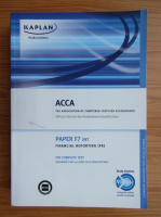 Anticariat: ACCA. Paper F7 INT. Financial reporting