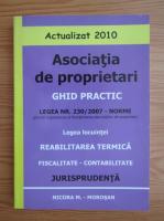 Anticariat: Asociatia de proprietari. Ghid practic. Legea nr. 230, 2007