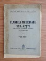 Aurel Rauta - Plantele medicinale romanesti (1920)