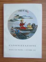 Anticariat: Canonizzazione