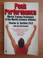 Anticariat: Charles A. Garfield - Peak performance