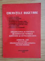 Anticariat: Creantele bugetare 2003