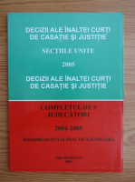 Anticariat: Decizii ale Inaltei Curti de Casatie si Justitie