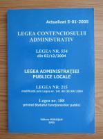 Anticariat: Legea contenciosului administrativ
