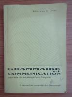 Marina Ciolac - Grammaire et communication