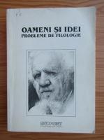 Anticariat: Oameni si idei. Probleme de filologie