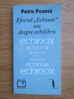 Petru Poanta - Efectul echinox sau despre echilibru
