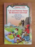 Cartile copilariei, clasa a VII-a. Cele mai frumoase basme din literatura unviersala