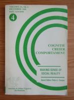 Anticariat: Cognitie, creier comportament, volumul IX, nr. 2, iunie 2005
