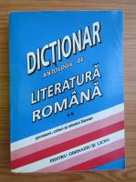 Anticariat: Constanta Barboi - Dictionar antologic de literatura romana. Prozatori, critici si istorici literari. Pentru gimnaziu si liceu (volumul 2)