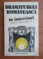 Anticariat: Dramaturgia romaneasca in interviuri (volumul 1)