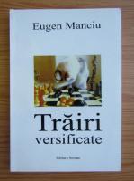 Anticariat: Eugen Manciu - Trairi versificate