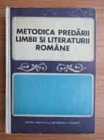 I. D. Laudat - Metodica predarii limbii si literaturii romane in scoala generala si liceu