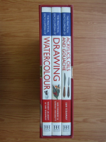 Ian Sidaway - A box of three practical books. Watercolour, oils and drawing (3 volume)