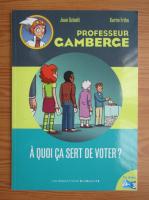 Anticariat: Jean Schalit - Professeur Camberge. A quoi ca sert de voter?