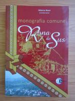 Odarca Bout - Monografia comunei Rona de Sus
