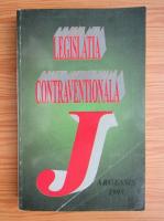 Anticariat: Radu Valentin - Legislatia contraventionala 1995