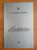 Anticariat: Restitutio, nr. 5, aprilie 2005