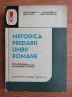 Simion Morarescu - Metodica predarii limbii romane pentru clasele I-IV