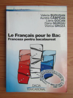 Valeria Budusan - Le francais pour le bac