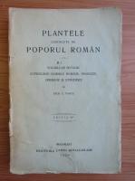 Anticariat: Zach Pantu - Plantele cunoscute de poporul roman (1929)