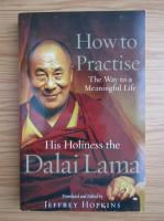 Anticariat: Dalai Lama - How to practise