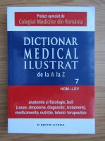 Anticariat: Dictionar medical ilustrat de la A la Z (volumul 7)