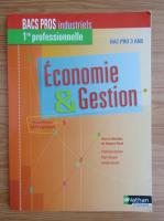 Anticariat: Economie et Gestion. Bac pro 3 ans