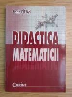 Florin Cirjan - Didactica matematicii