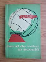 I. N. Klescev - Jocul de volei in scoala