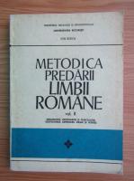 Ion Berca - Metodica predarii limbii romane (volumul 2)