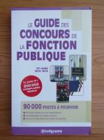 Anticariat: Le guide des concours de la fonction publique