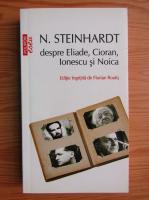 Nicolae Steinhardt - Despre Eliade, Cioran, Ionescu si Noica