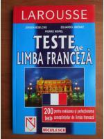 Jurgen Boelcke, Eduardo Jimenez, Pierre Morel - Teste de limba franceza