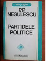 Anticariat: P. P. Negulescu - Partidele politice
