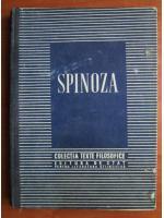 Spinoza (colectia Texte Filozofice)