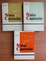 Anticariat: Alexandru Gheorghiu - Statica constructiilor (3 volume)