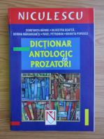 Anticariat: Constanta Barboi - Dictionar antologic de prozatori