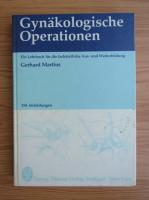 Anticariat: Gerhard Martius - Gynakologische Operationen