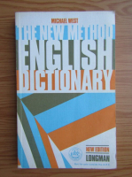 Anticariat: Michael West - The new method english dictionary