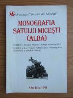 Anticariat: Monografia Satului Micesti, Alba