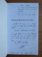 Octav Bibere - Uniunea Europeana intre real si virtual (cu autograful autorului)