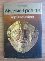 Anticariat: S. E. Iakovids - Mycenae-Epidaurus