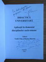 Vasile Chis - Didactica universitara (cu autograful autorului)