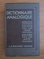 Anticariat: Charles Maquet - Dictionnaire analogique (1936)