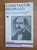 Anticariat: Constantin Negruzzi - Amintiri din junete. Fragmente istorice. Negru pe alb. Scrisori la un prieten