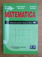 Anticariat: Dorin Andrica, Marian Andronache - Matematica. Manual pentru clasa a XII-a, M1 (2002)